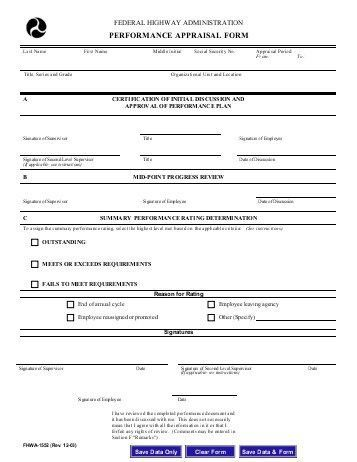 Simple Appraisal Form. Employee Evaluation Form   41+ Download .
