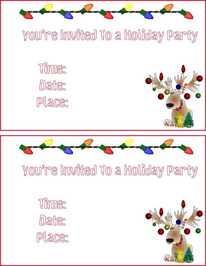 Luau Invitation Templates - Invitation Template