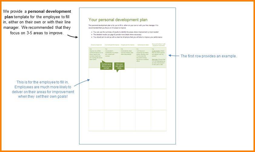 8+ personal development plan sample   memo templates