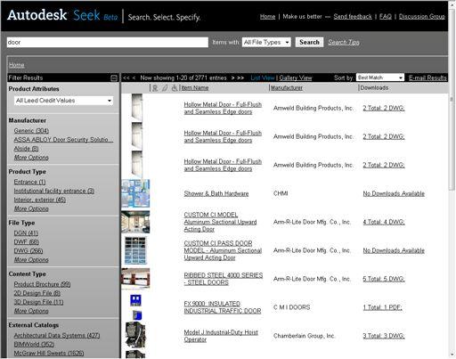 Autodesk Content Search Graduates to Autodesk Seek