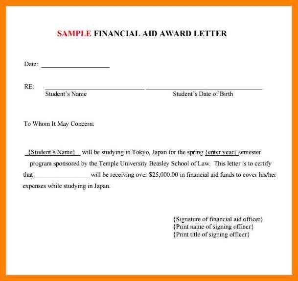 6+ award letter template | addressing letter