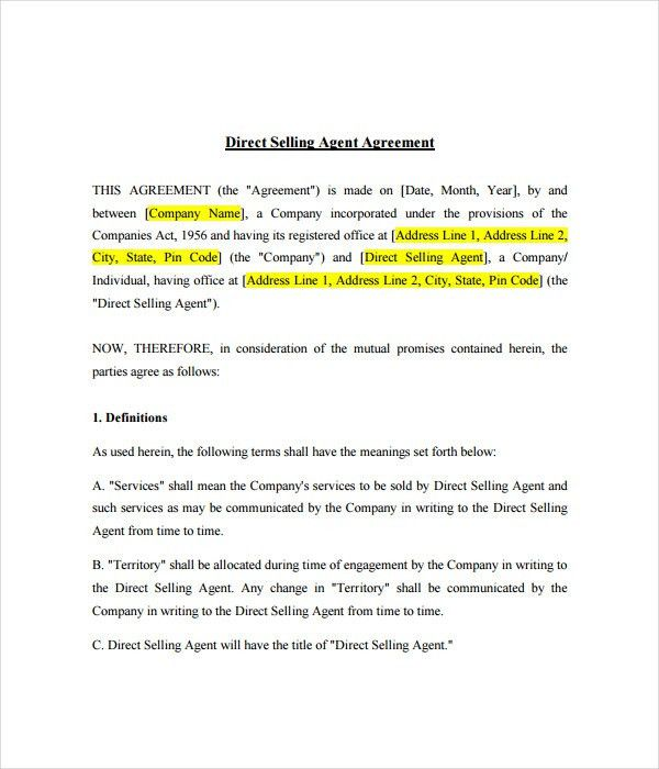Agent Contract Template. Real Estate Agent Resume Samples With ...
