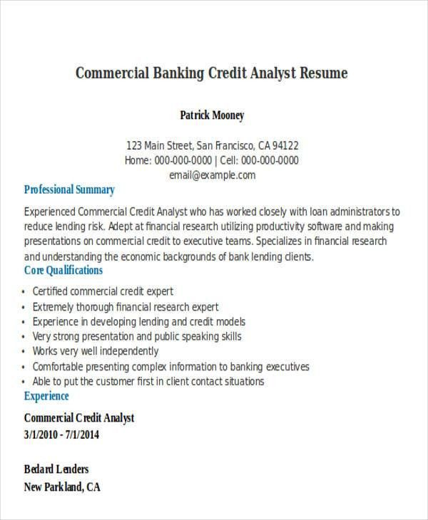 21+ Banking Resume Templates | Free & Premium Templates