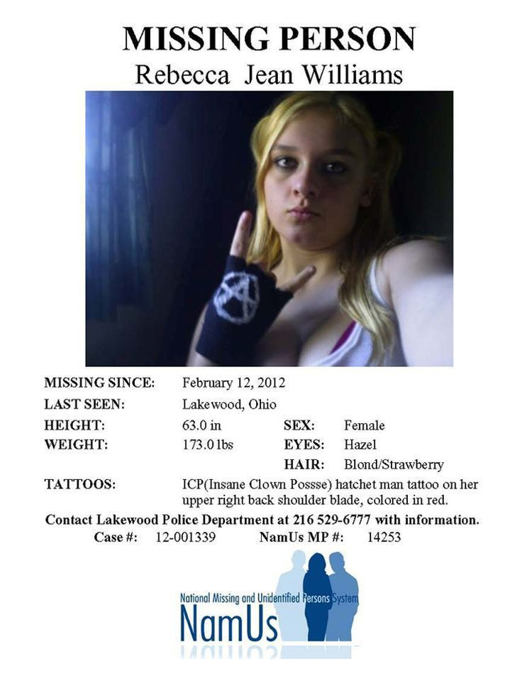 Missing Person Posters | Samples.csat.co
