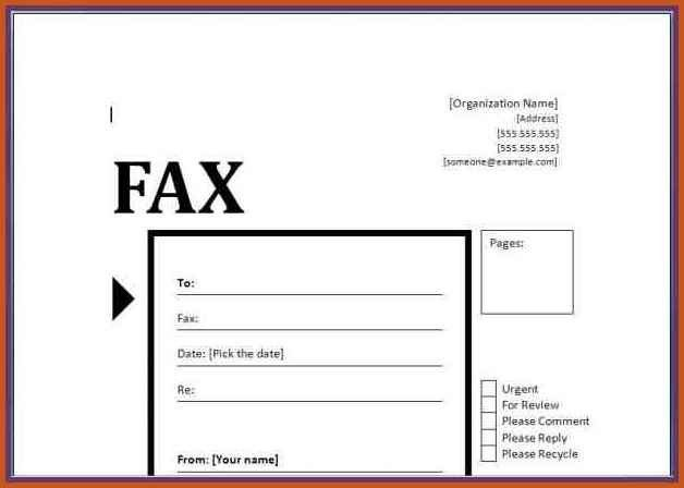 Sample Office Fax Cover Sheet. 12+ Example Of Fax Cover Sheet .