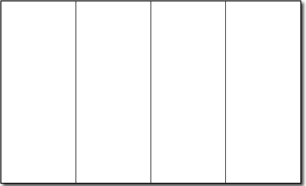 4 Fold Brochure Template | Template Design