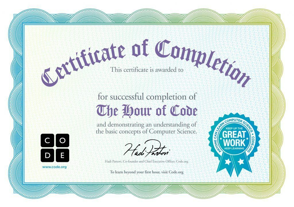 Certificate of completion template free download completion completion template word free certificate templates yadclub Images