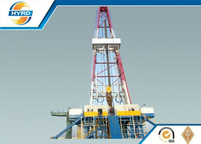 Electrical Onshore Steel Oil Drilling Rig , Oil Well Drilling ...