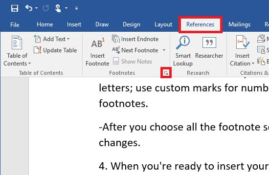 How (and when) to use Microsoft Word footnotes and endnotes ...