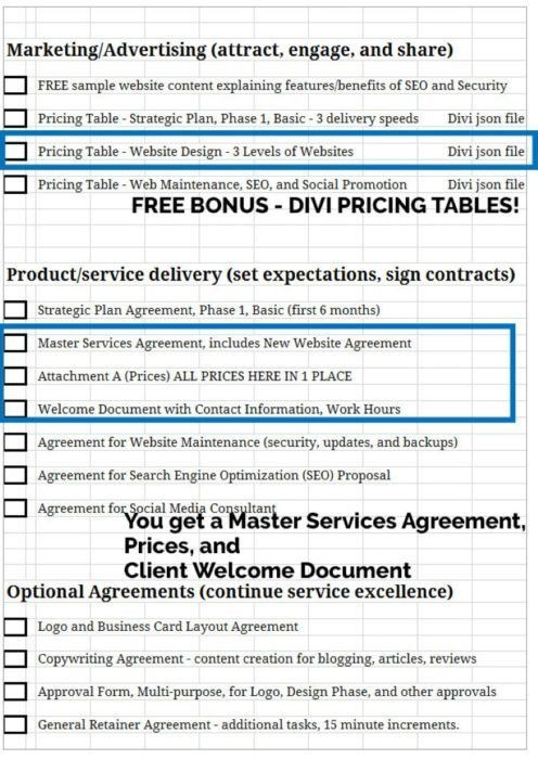 The Ultimate Web Designer's Contract - Divi Genius