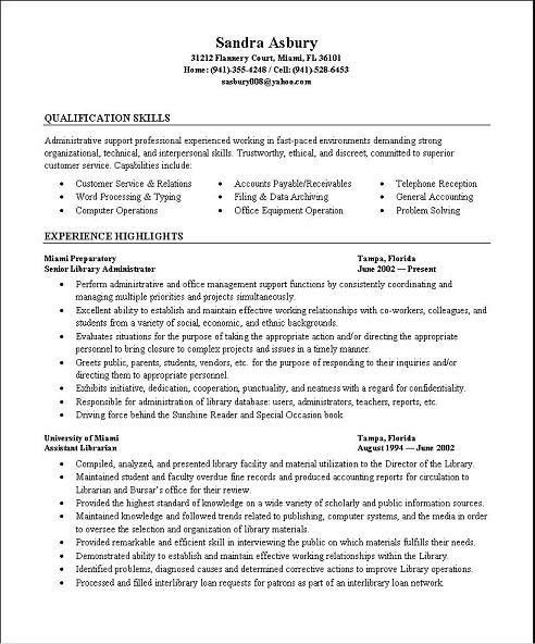 Medical Billing Sample Resumes | Free Resumes Tips
