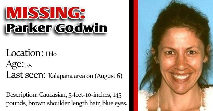 Missing person: Parker Godwin