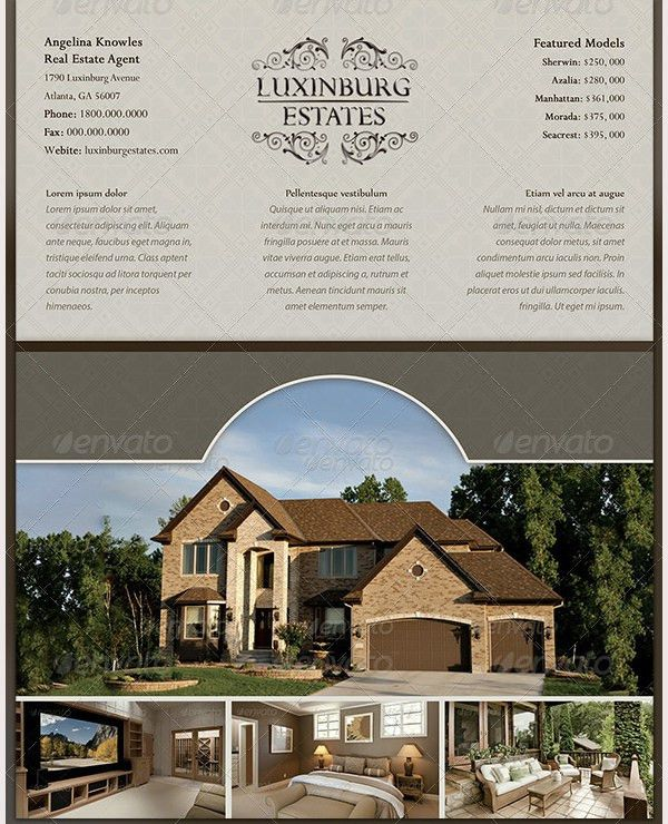 44+ PSD Real Estate Marketing Flyer Templates | Free & Premium ...