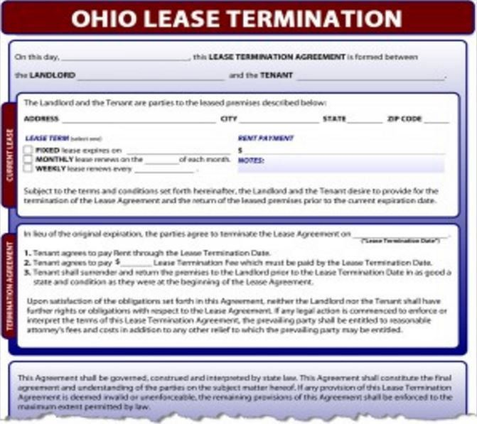 the lease termination letter templates. landlord lease termination ...