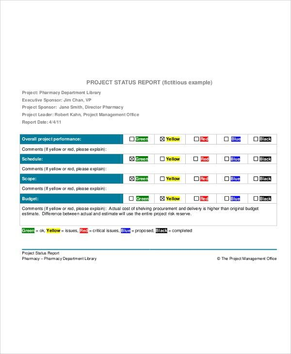 Project Management Report. Everyone'S A Project Manager, But Not ...