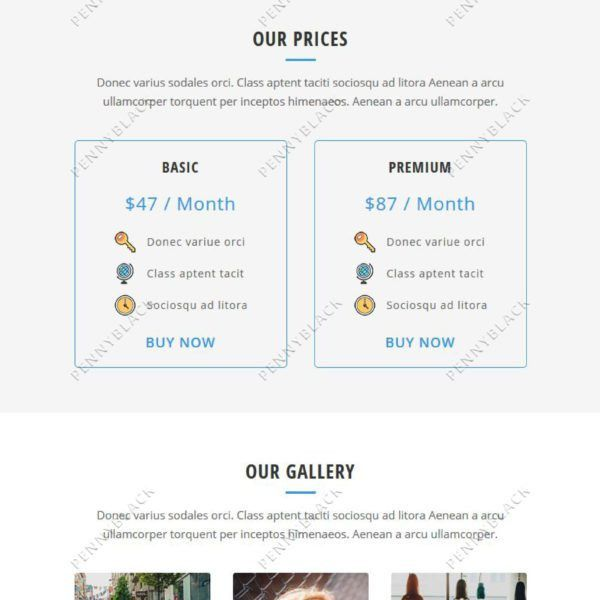 Dare – Responsive Email Template – PennyBlack Templates