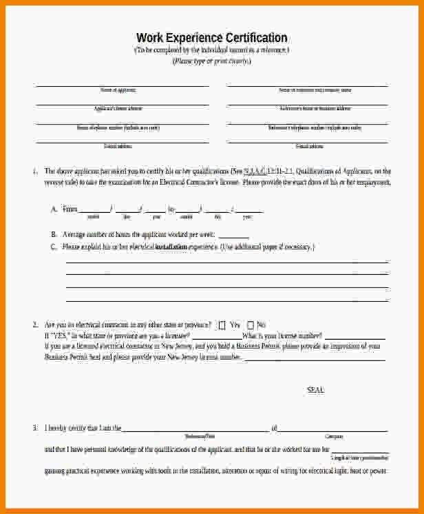 4+ experience certificate format pdf | Medical Report