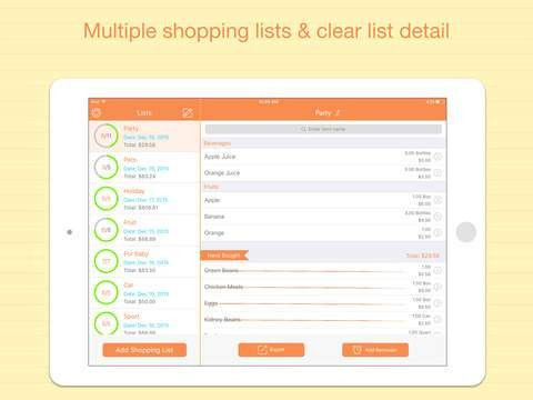The best grocery list apps for iPhone and iPad - appPicker