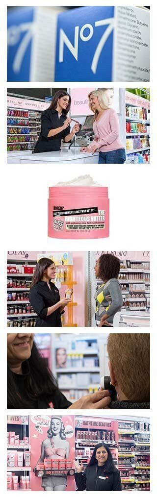 Beauty consultant at WALGREENS