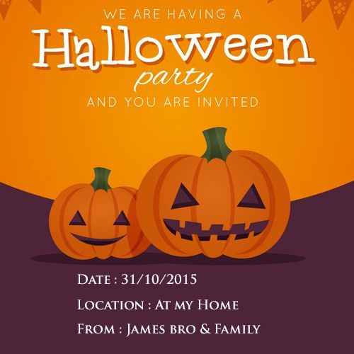 New Halloween Party Invitation Cards 55 In Office Inauguration ...