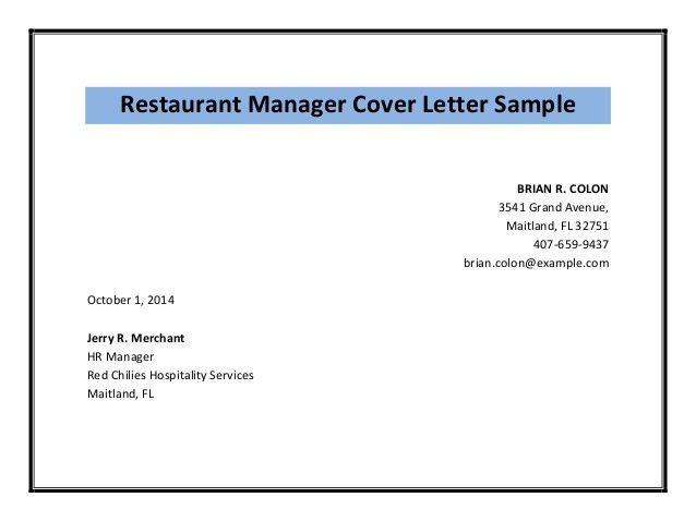 read full article httpwwwbestofsampleresumecomrestaurant manager ...