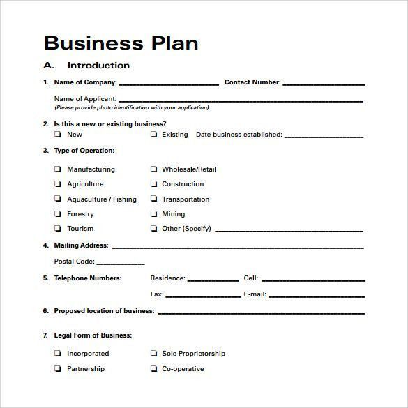 Business Plan Outline Template. Business-Plan-Outline-Examples ...