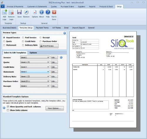 Invoicing Software | Invoice Software - with multiple Invoice ...
