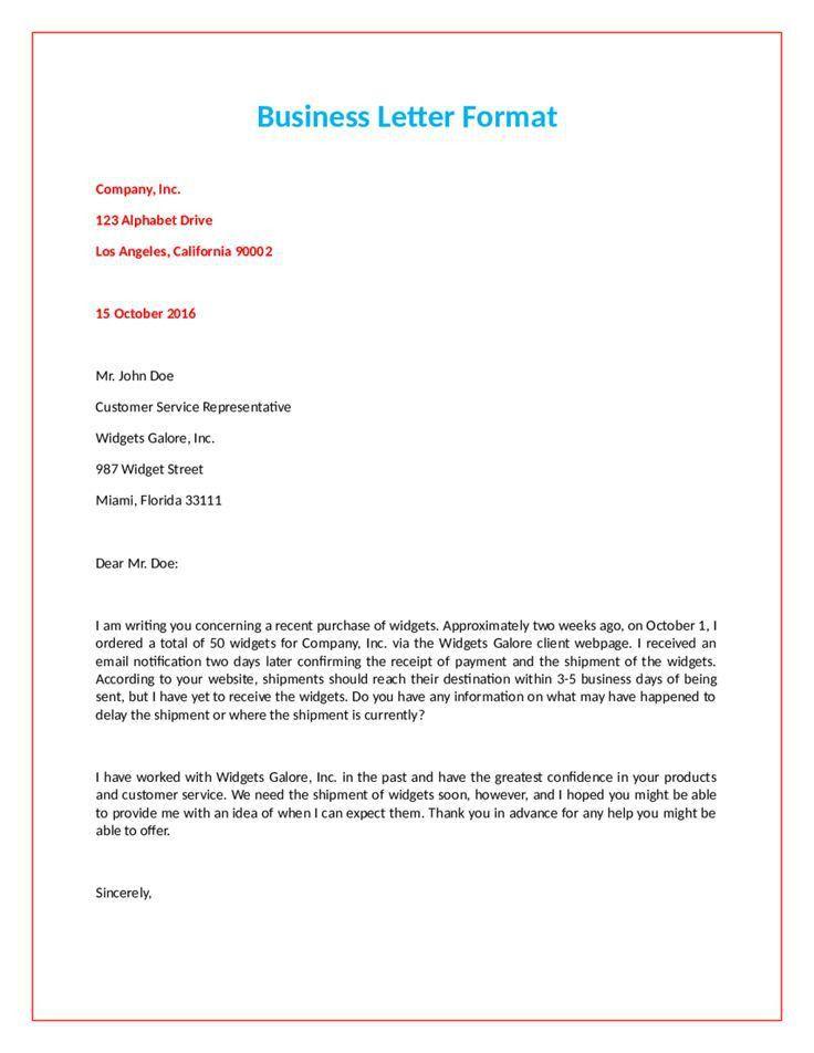 Best 25+ Official letter sample ideas on Pinterest | Sample letter ...