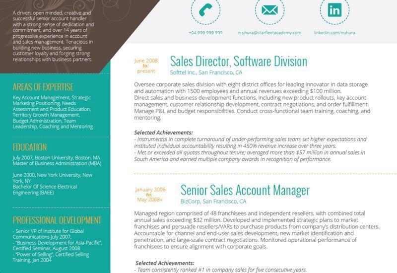 Best Resume Template Word - Resume Example