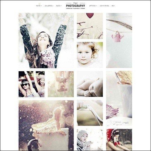 Wordpress Photography Website Templates | Katlyn Jane Photography ...