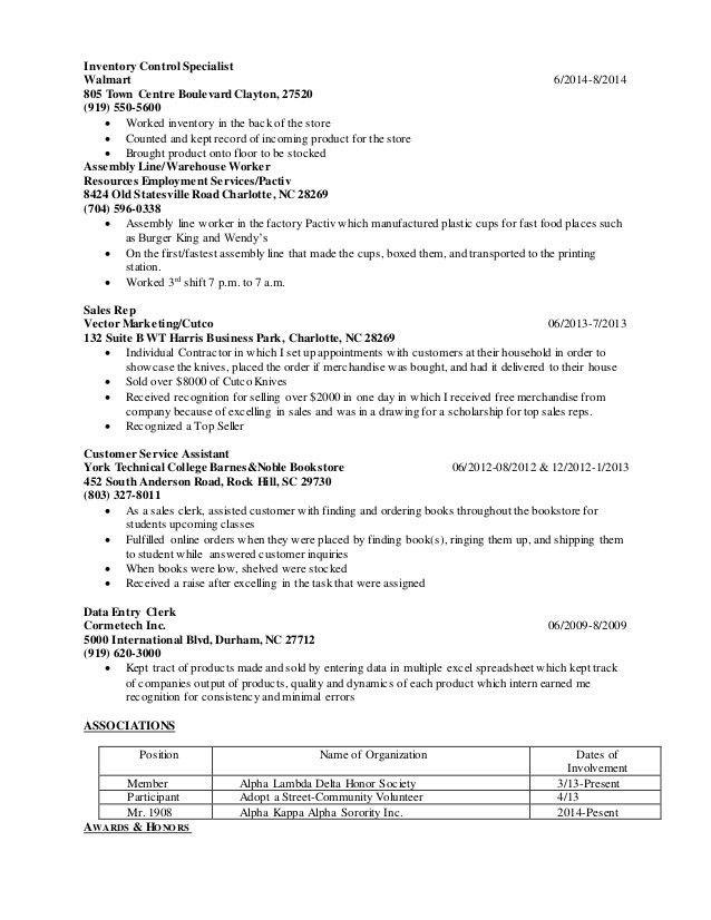 New longggg resume