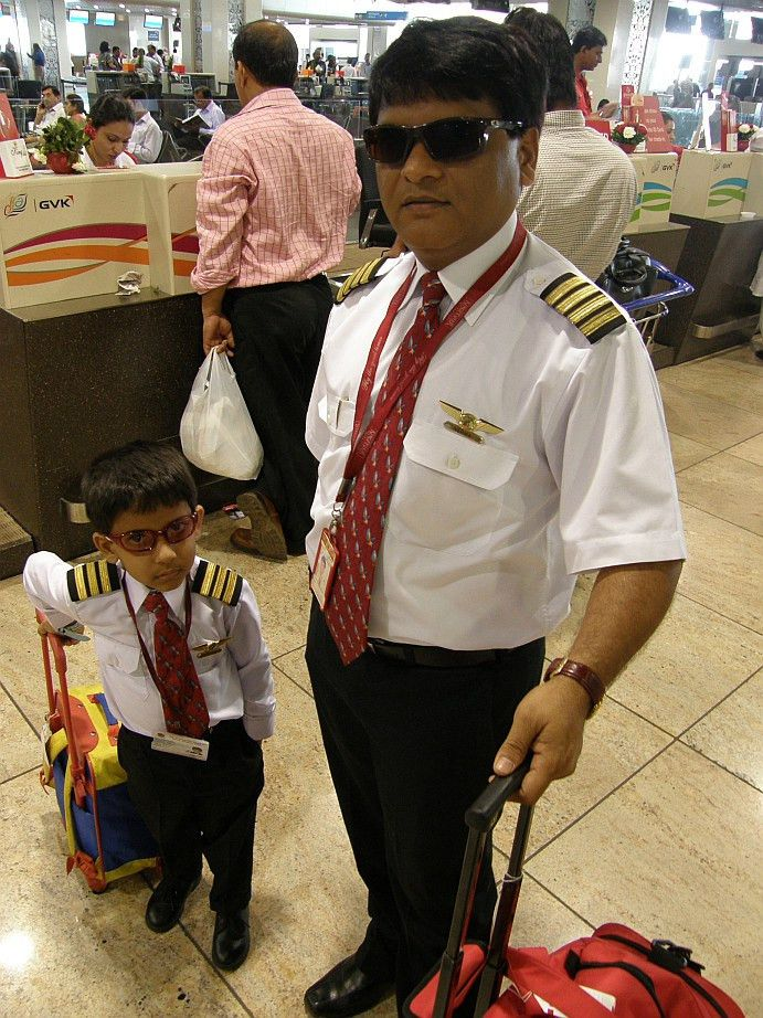 Captain Dad and kid First Officer | The Flying Engineer