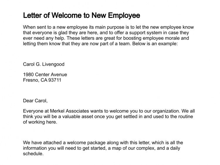 How to Write a New Hire Announcement Letter Sample