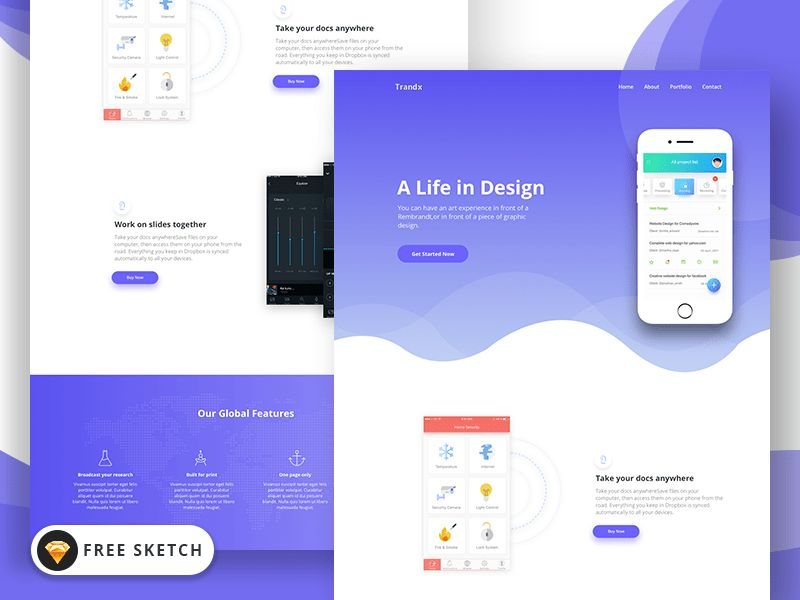 Top 10 Free Landing Page Templates – UI Collections – Medium