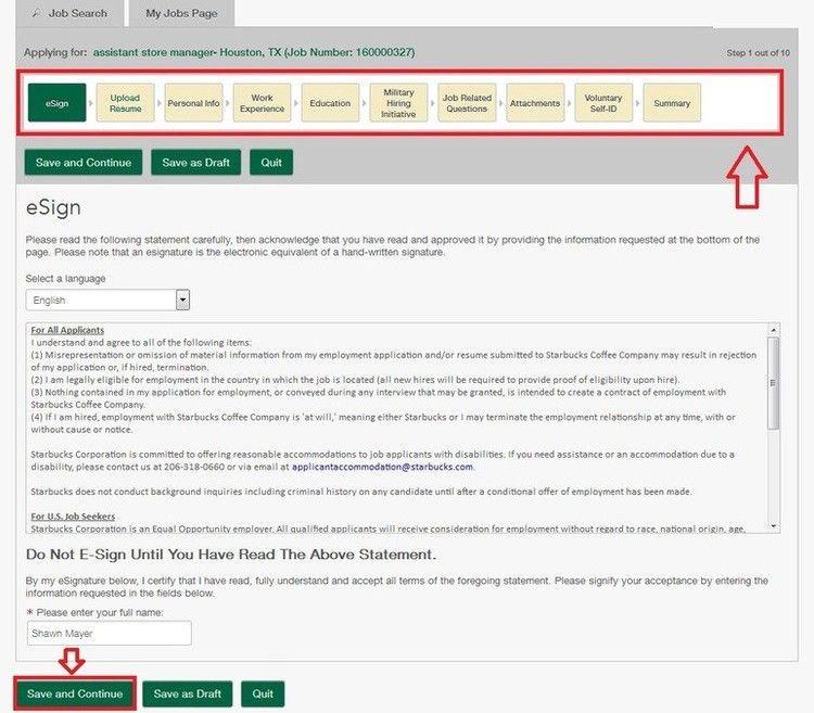 How to Apply for Starbucks Jobs Online at starbucks.com/careers