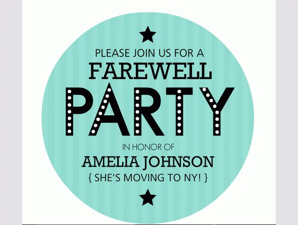 Beautiful Surprise Party Invitation Template Accordingly Cool ...