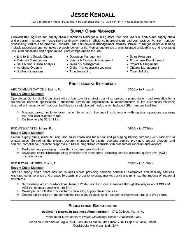 sample it manager resume resume it examples cover letter senior ...