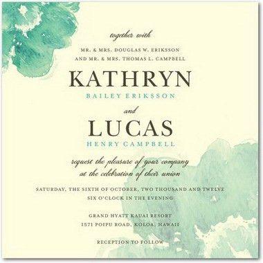 Wedding Invitations Examples – gangcraft.net