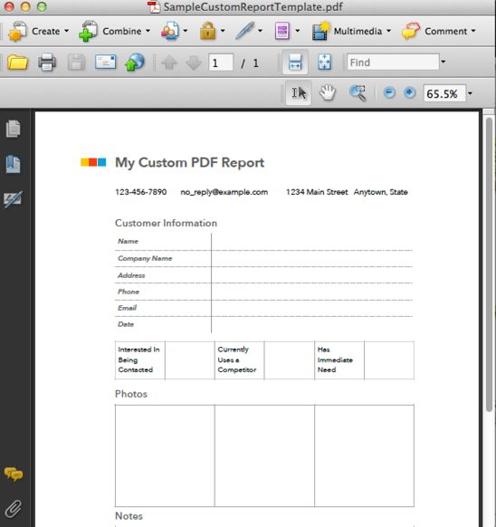 Custom PDF Reporting – FastField Mobile Forms Help Center