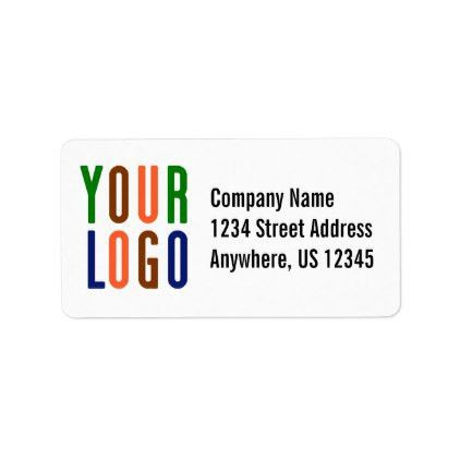 template - #Promotional Your Company or Event Logo Large Label ...
