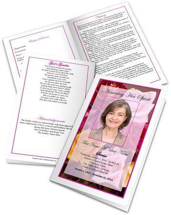 Funeral Program Wording | Examples of Wording for Funeral Programs