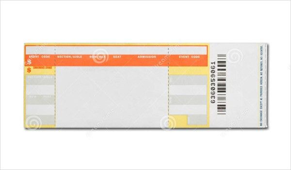 15+ Concert Ticket Templates - Free PSD, AI , Vector EPS Download ...