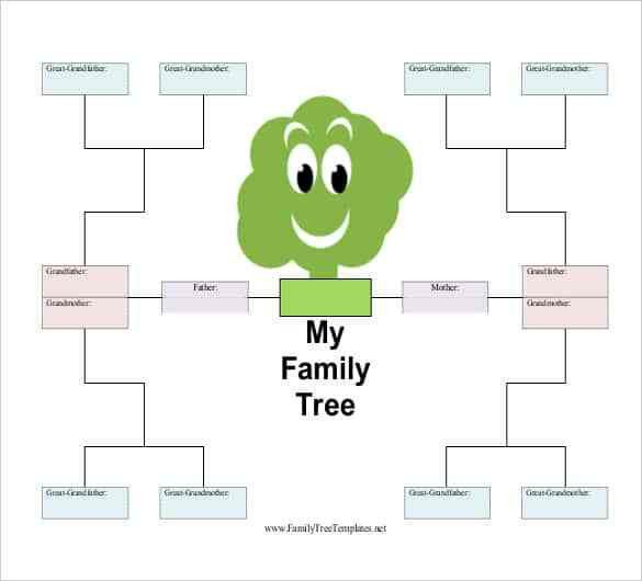 Simple Family Tree Template - 25+ Free Word, Excel, PDF Format ...