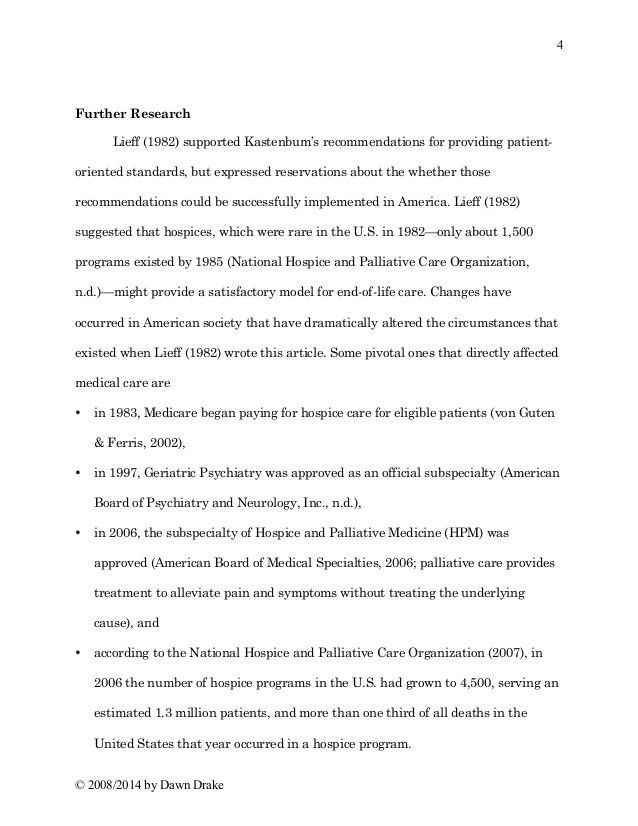 Article Review-Writing Sample