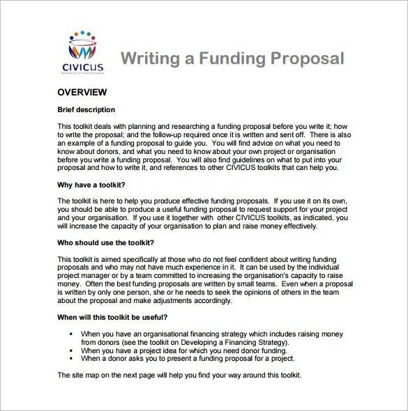11+ Writing Proposal Templates – Free Sample, Example, Format ...