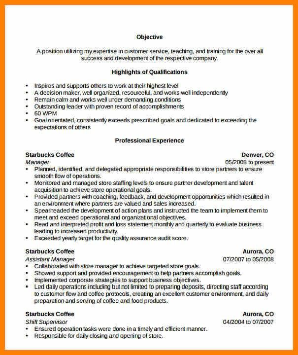 7+ grocery store resume | character refence