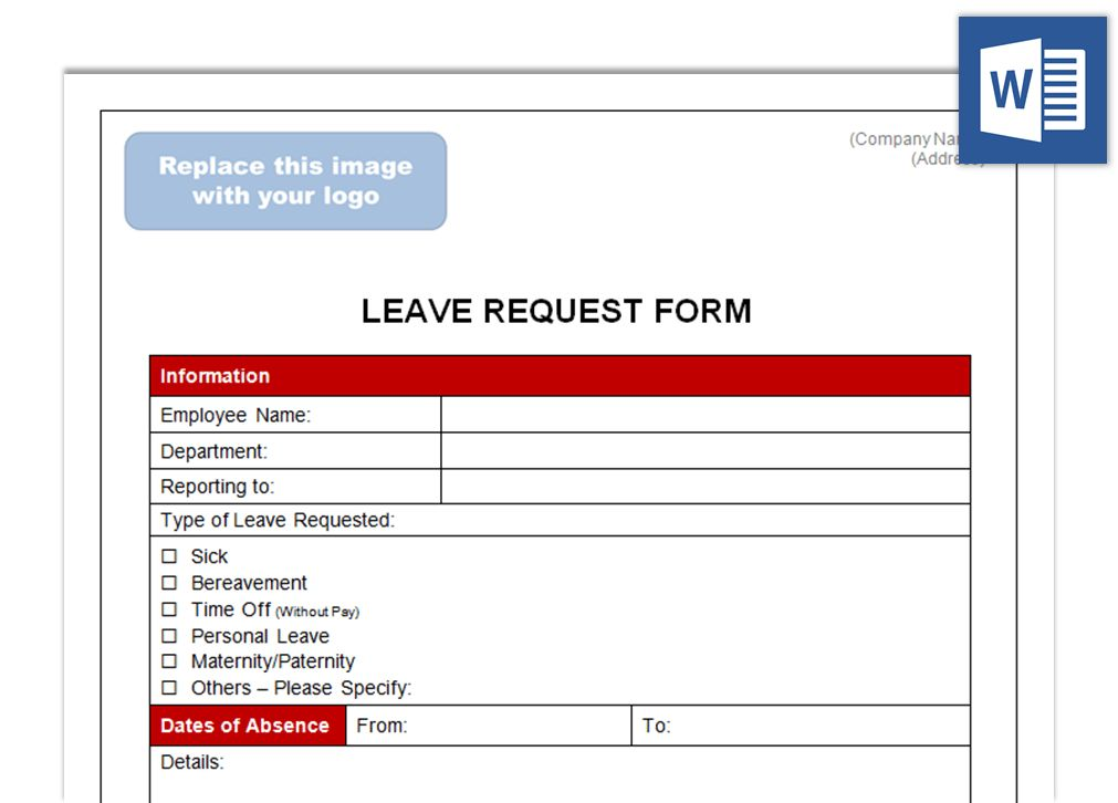 Leave Request Form - Future CEOs