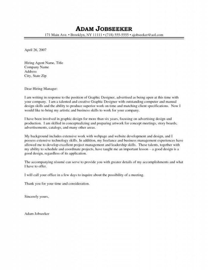 Art Designer Cover Letter