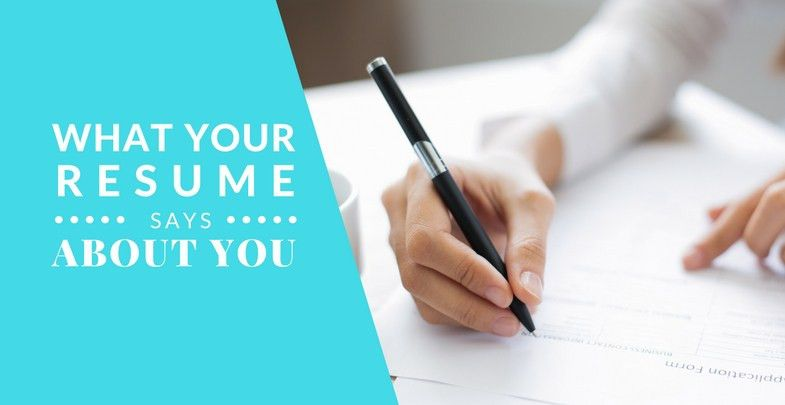 "What does your resume ""really"" say about you? - Flexi Home Jobs"