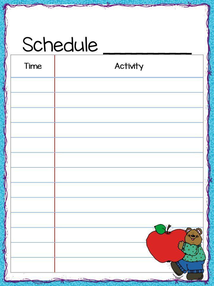 Best 25+ Class schedule ideas on Pinterest | Classroom schedule ...